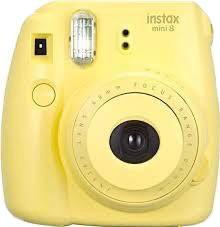 polaroidcamera yellowaesthetic