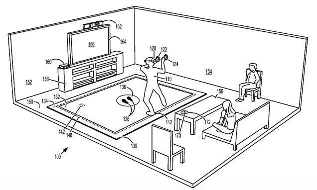 New Microsoft Patent Shows Off A Floor Mat For Your Virtual Reality Experiences