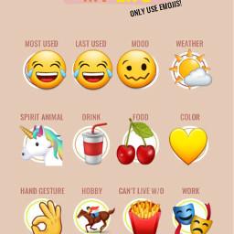 emoji mylife freetoedit