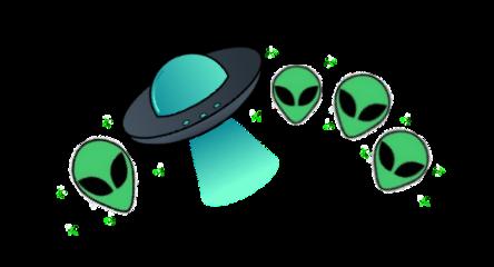 freetoedit alien crown green aesthetic