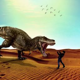freetoedit dinosaurus padangpasir