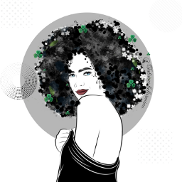 freetoedit curlyhair smile beautifulhair spring