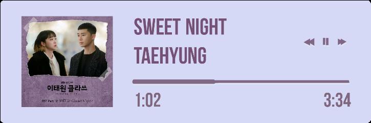 sweetnight btsv taehyung bts v freetoedit