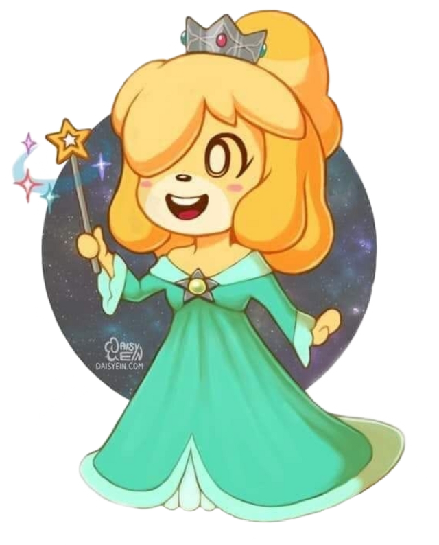 #princessrosalina #isabelle #animalcrossing #cute #supermario