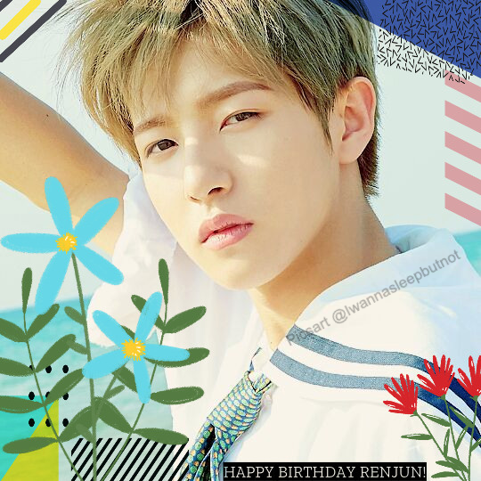 March 22, 2020 Happy birthday to Renjun! I decide to edit because I think I'm kinda good at editing than drawing so yee. Also please don't steal this!  Tags: #huangrenjun #renjunday #kpop #edit #nct #nctdream #freetoedit