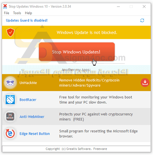 """StopUpdates10 V2.0.51 (Stop Windows Updates)    StopUpdates10 V2.0.51 (Stop Windows Updates) ->->->-> http://cinurl.com/1alza2        Stopping updates prevents downloading and installing any updates. It blocks the Windows update service. Pausing updates only block installing,.... By default, you should see """"Windows Updates is not blocked"""" in red letters and a red button that says """"Stop Windows Updates!"""" Once blocked, everything is reversed and in green letters with text that says """"Windows Updated is blocked!"""" and a button that reads """"Restore Windows Updates."""". StopUpdates10 Freeware - disable Windows 10 automatic updates. ... StopUpdates10 creates a registry keys to block updates and also blocks.... Plik StopUpdates10 v2.0.51 (Stop Windows Updates).rar na koncie użytkownika gerchart45 • folder PROGRAMY 2019 • Data dodania: 12 mar 2019.. StopUpdates10 v2.0.51 (Stop Windows Updates) ~ [APKGOD], 16, 2, Mar. 11th '19, 1.3 MB16, apkgod · HaxSync 2.9x (24 feb update)(Sync Facebook Contacts.... 磁力文件StopUpdates10 v2.0.51 (Stop Windows Updates) ~ [APKGOD]创建于2019-04-24,大小为1004.43 KB,包含4个文件.. StopUpdates10 v2.0.51 (Stop Windows Updates) ~ [APKGOD], 16, 2, Mar. 11th '19, 1.3 MB16, apkgod · LEGO THE INCREDIBLES-CODEX [Inc. ALL Updates].... StopUpdates10 v2.0.51 (Stop Windows Updates) ~ [APKGOD] torrent download - ExtraTorrent.. 1080p & 360p 화질의 드라마, 예능도 구글 검색해 보세요. 우리 모두의 e-파일 > 유틸   StopUpdates10 v2.0.51 (Stop Windows Updates) ~ [APKGOD]. StopUpdates10 v2.0.51 Stop Windows Updates. Try changing your home wifi type to 'metered. Clicking on that will take you to """"Network & Internet"""", go to the.... StopUpdates10 v2 0 51 (Stop Windows Updates) {REG3} ... StopUpdates10 v2.0.51 (Stop Windows Updates) ~ [APKGOD], done, Software, 8 months ago.... 토렌트 포털 토렌트아이 > 유틸   StopUpdates10 v2.0.51 (Stop Windows Updates) ~ [APKGOD]. StopUpdates10 v2.0.51 (Stop Windows Updates) ~ [APKGOD], 16, 2, Mar. 11th '19, 1.3 MB16, apkgod · LEGO THE INCREDIBLES-CODEX [Inc. ALL Updates].... StopUpdates10 v2.0"""