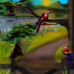 drawing art digitalart painting digitalpainting dcwelcomingspring welcomingspring spring