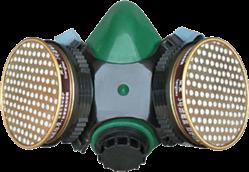 green gasmask mask respirator freetoedit