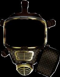 louisvuitton gasmask lv mask freetoedit