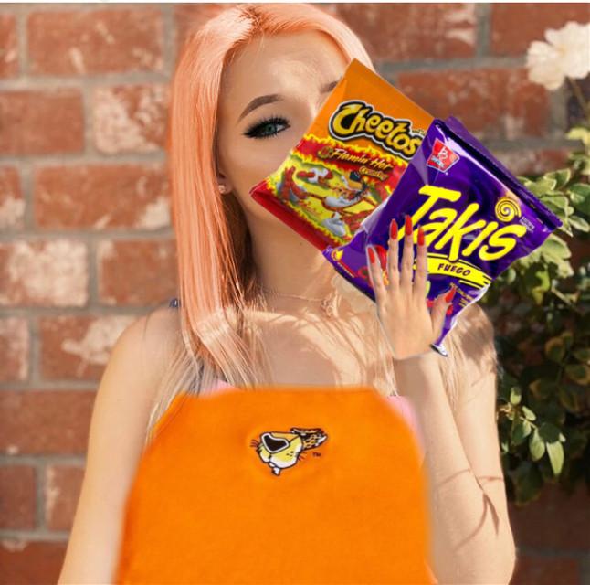 #freetoedit  zoe is a cheeto girl