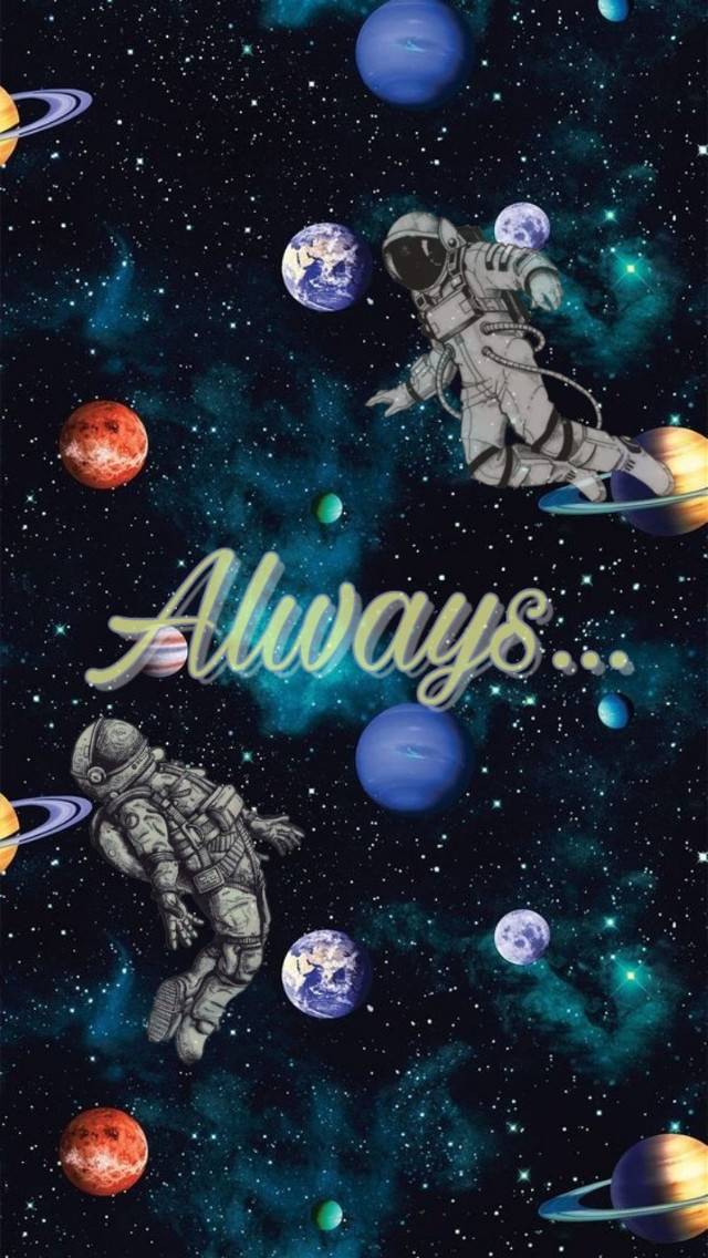 #freetoedit #alwaysandforever  #always #galaxy #friend #astronaut