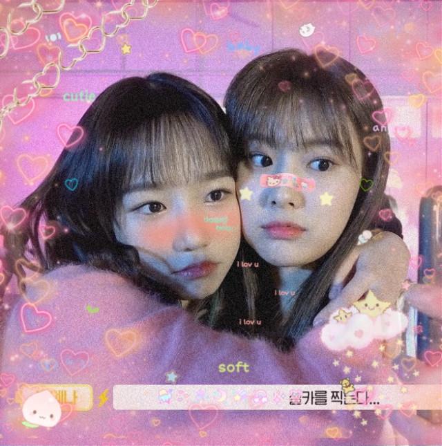 #freetoedit #izone #yuri #hyewon #izoneicon #cute #edit #filter #izoneyuri #izonehyewon #heart #kpop