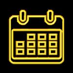 calendar schedule agenda icon changeicon freetoedit