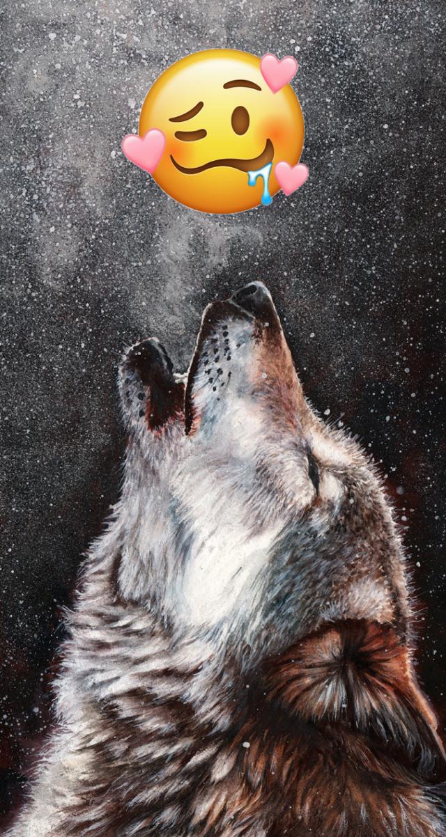 #freetoedit kto tak jak ja kocha wilki? 💜💛💚💙🧡❤️