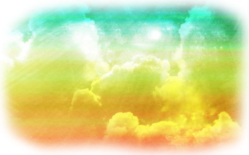 colorful background clouds freetoedit