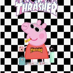 trasher peppapig peppa пеппа свинкапеппа