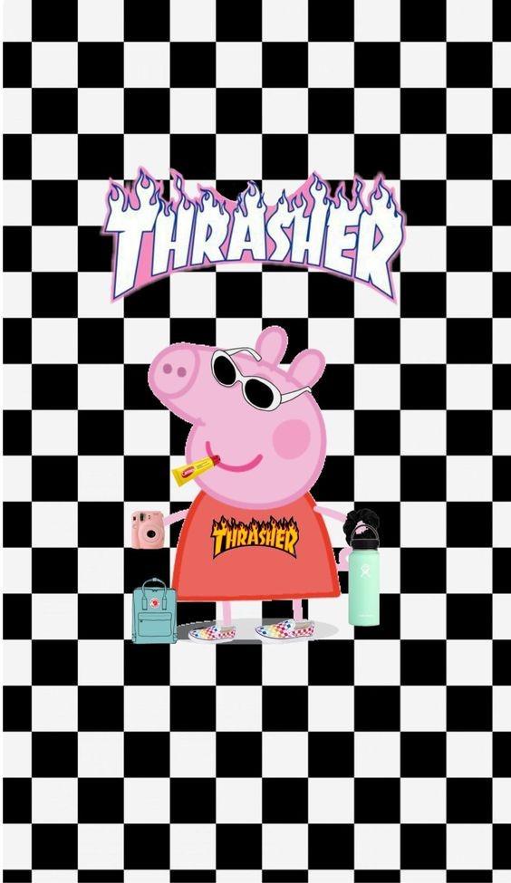 #trasher#peppapig#peppa#пеппа#свинкапеппа#клетка
