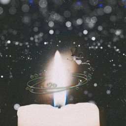 freetoedit candle candles fairy lights