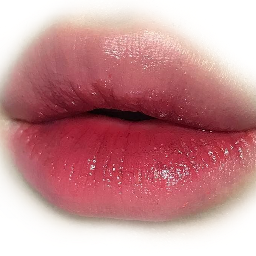 lips koreanstyle makeup look freetoedit