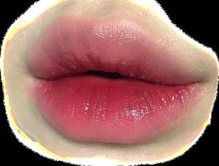 lips koreanstyle makeup look freetoedit