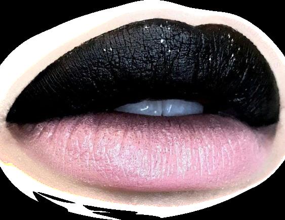 #lips #look #makeup #black #pink #blackpink