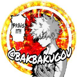 freetoedit icon bakugo