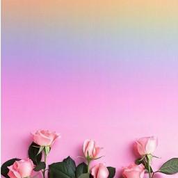 freetoedit rosas rainbowbrush happy fotoedit