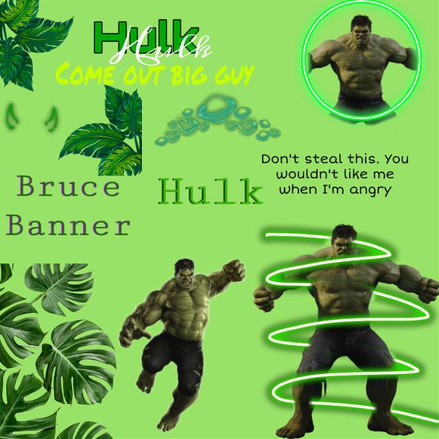 #freetoedit #hulk #avengers