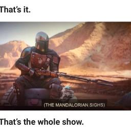 meme starwars themandalorian