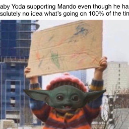 babyyoda meme starwars themandalorian