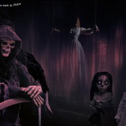 nightmare night fear afraid scared freetoedit
