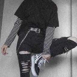 grunge emo outfut aesthetic bvb freetoedit