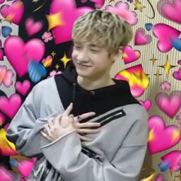 kpop kpopedits heart heartmeme chan freetoedit