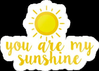 sunshine yellow aesthetic sticker freetoedit
