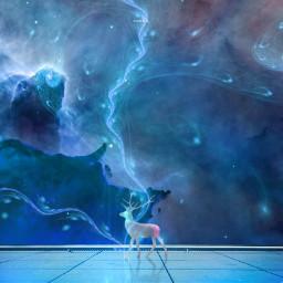 freetoedit snoriginals unicorn blue heaven