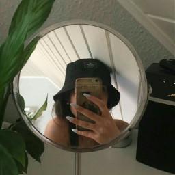 mirror mirrorselfie fanartofkai girl korean freetoedit