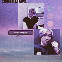 amanumayuku yuku dkb purple cute echan freetoedit
