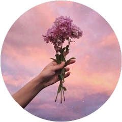 tumblr hand flower sky aesthetic freetoedit