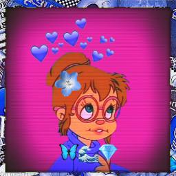 blue alvinandthechimpmunks dumb girl
