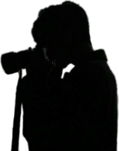 camera silloutte dark grunge black freetoedit