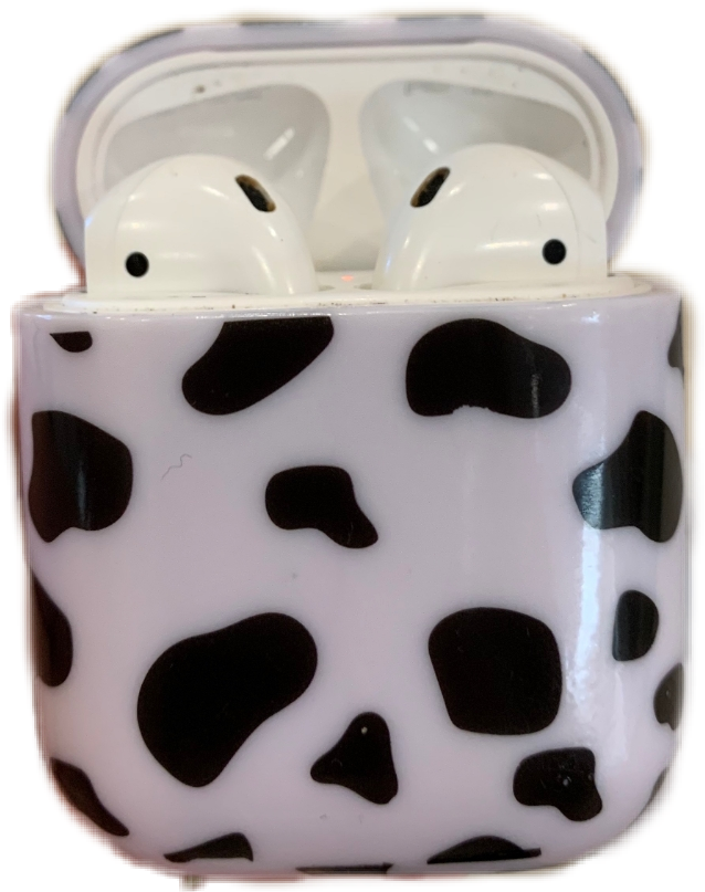 #cow #print #airpods #case