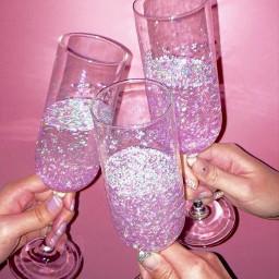 glitter pink vintage 90saesthetic aesthetic freetoedit