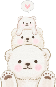 freetoedit bears cute aesthetic