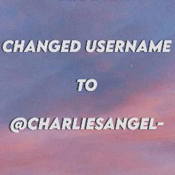 username usernamechange changedusername