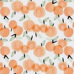 freetoedit aesthetic pastel orange print