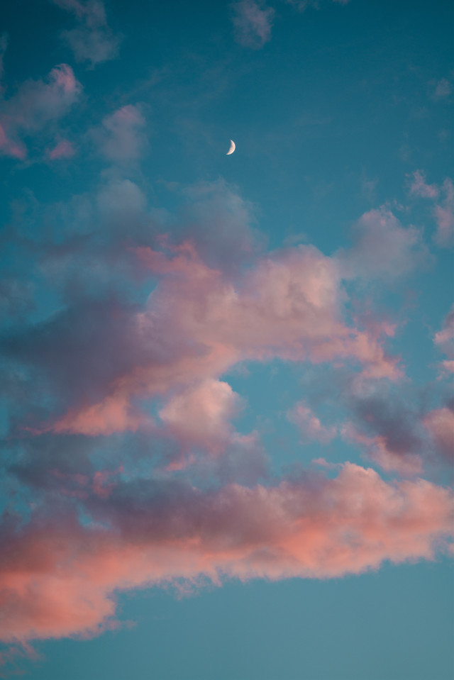 Bring a splash of creativity to this image! Unsplash (Public Domain) #clouds #sky #pink #background #backgrounds #freetoedit