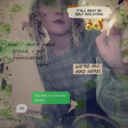 freetoedit egirl aesthetic green text