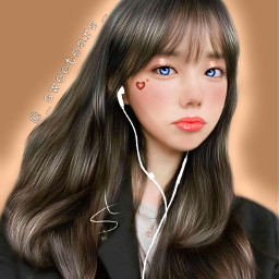 edit koreangirl korea art koreangirls
