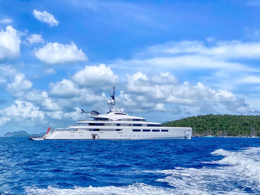 #boat #boatlife #ocean #islands #bluesky #sky #skylovers #travel #photography #beautiful #nature #landscape #photography #freetoedit
