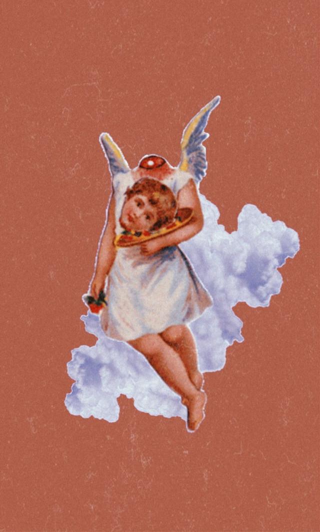 #freetoedit  #angel #tumbler  #vintage #retro #huji #kuji #kujicam  #effect #grunge